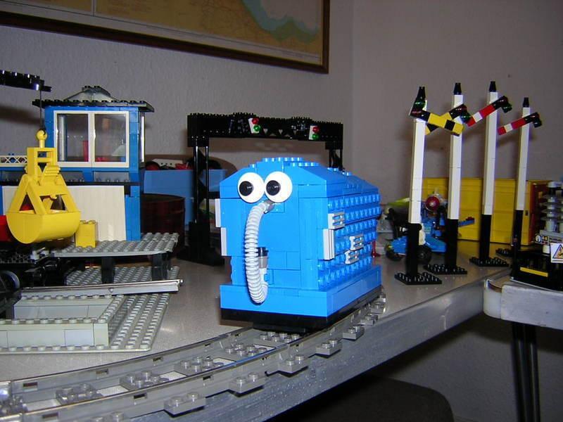 Лего пылесос как сделать
